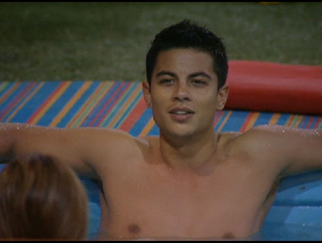 Big Brother 13 Dominic Briones chest pics