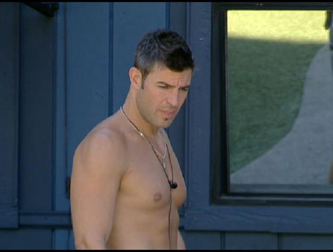 Big Brother 13 Jeff Schroeder bare chest